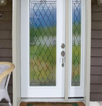 Puertas principales ventanas jm for Vidrios para puertas principales